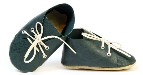 leather shoe Etsy find of the day   leather baby shoe