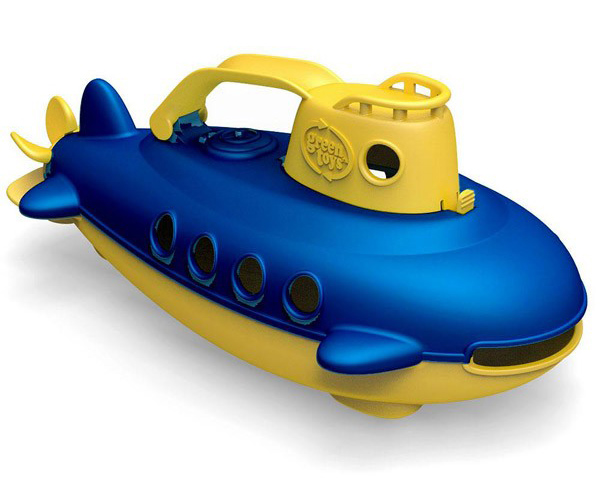 Green Toys submarine bath toy