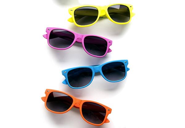 Red Rabbit children's wayfarer sunglasses
