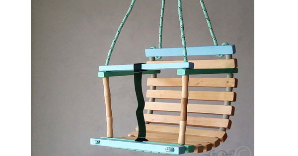 swing1 Etsy find of the day   wooden baby swing
