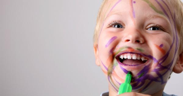 toddler messy