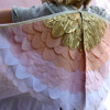 Etsy find of the day – golden pink dress-up wings