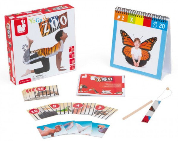 zoo yoga from Janod Toys