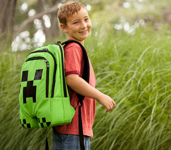Back to School bags and backpacks 2015, Minecraft backpack