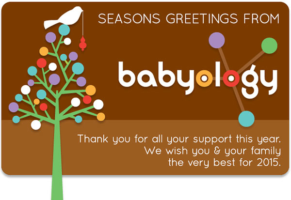 Seasons greetings from Babyology (and a special offer)