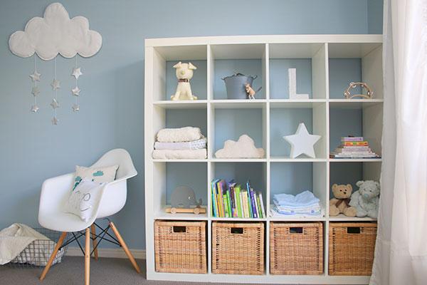 Lincoln-3, blue nursery