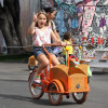 Kids can ride in retro style with Republic Cargo Bikes