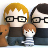 Etsy find of the day – customised family dolls