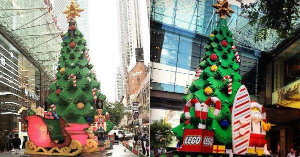 lego christmas tree sydney
