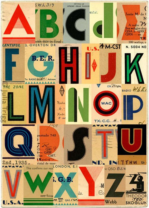 Alphabet Letters For Baby Nursery