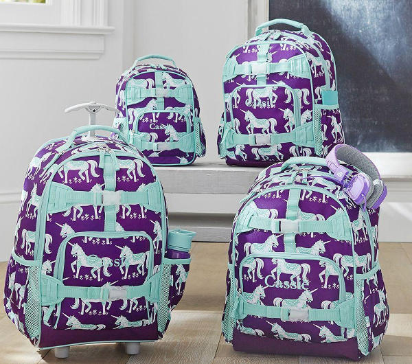 Back to School bags and backpacks 2015, unicorn backpack