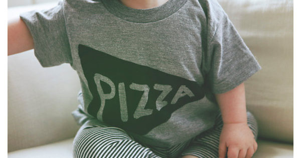 pizza1 Etsy find of the day   pizza tee