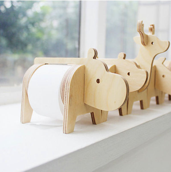 Get the kids wild about school with safari tape holders Kids toilet paper holder