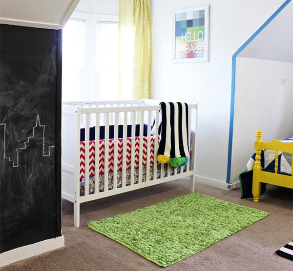 Superhero-room-baby-nook