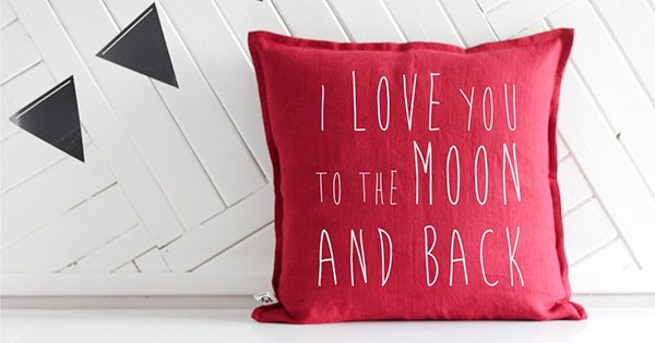 Valentines Day Etsy moon and back cushion FB