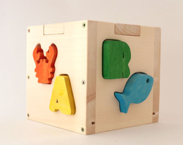 Name In A Wooden Box The Personalised Children S Shape