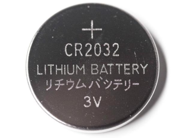 lithium button battery