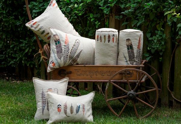 coral4, coral & tusk pillows