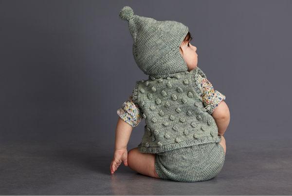 mish5, misha and puff baby knitwear