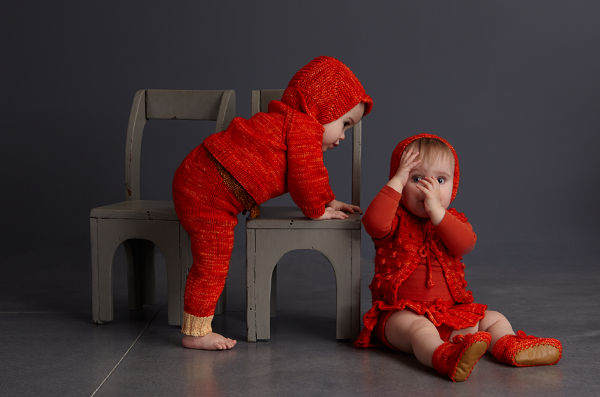 mish7, misha and puff baby knitwear