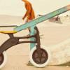 The Wishbone balance bike gets the recycled treatment