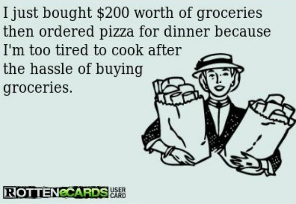 meme grocery shopping