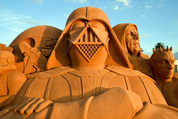 taking sand castles to a whole new level