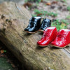 Gorgeous handmade first walkers from Emel Shoes
