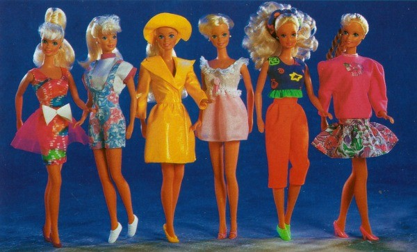 barbies old toys