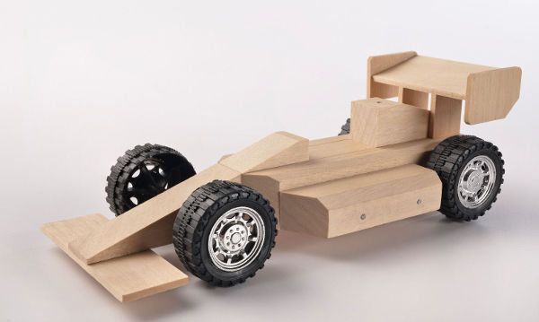 Buildme wooden toy kits - encouraging father & son bonding via construction play