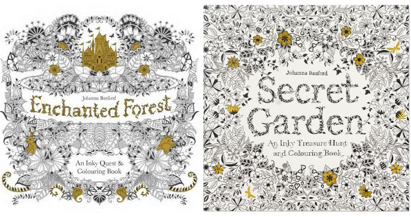 More Colouring Fun For Grown Ups From Johanna Basford