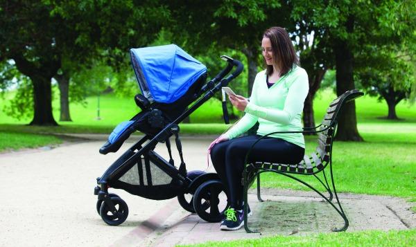 Britax e-brake stroller
