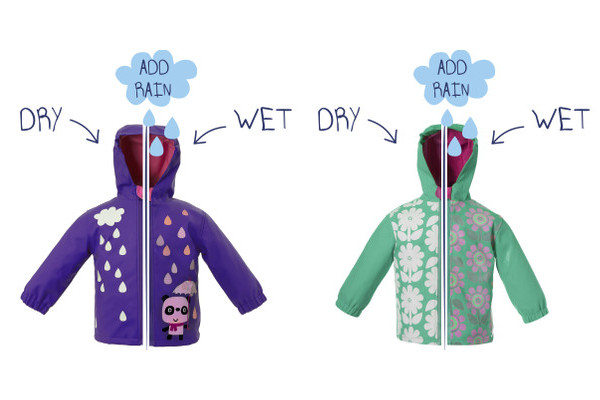 Squid Kids rainjackets