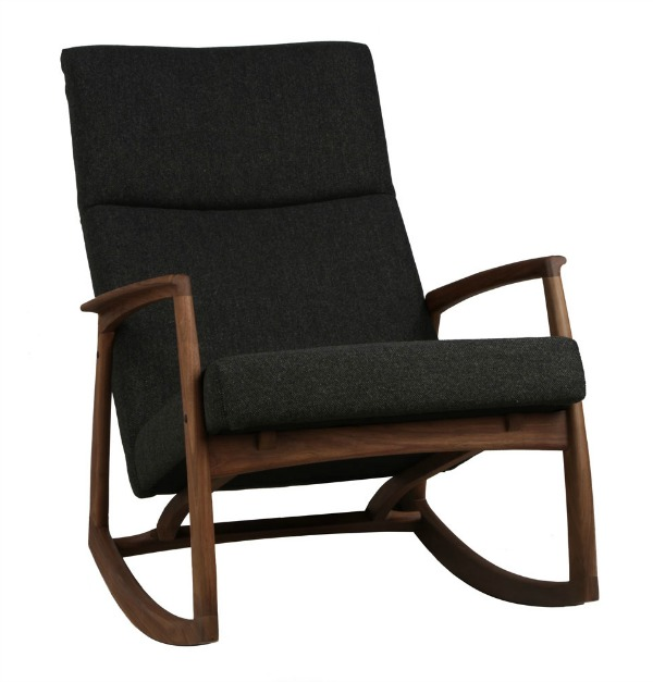 Nursing chairs go modern with the edvard danish design for Nursing chair design