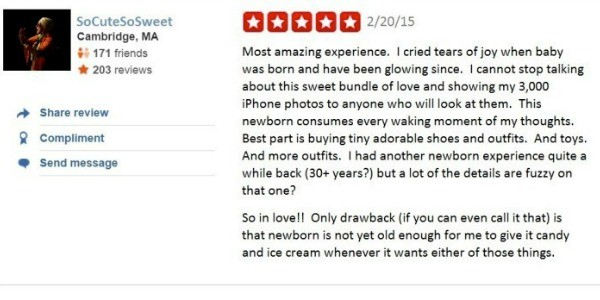 Newborn review five star again