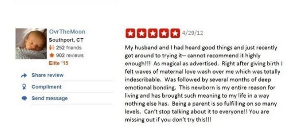 Newborn review happy