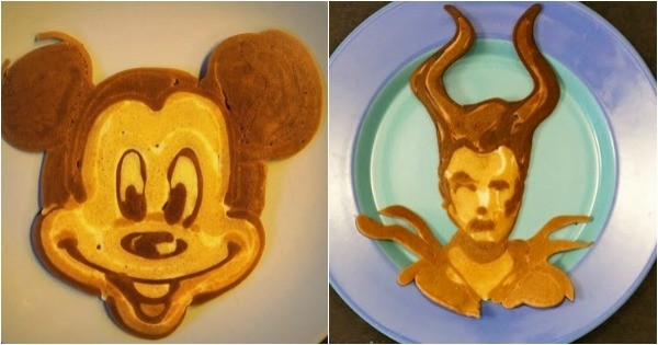 Pancake Dad Micky and Malicifient