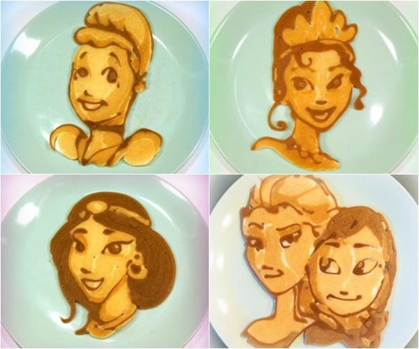 Pancake dad princesses