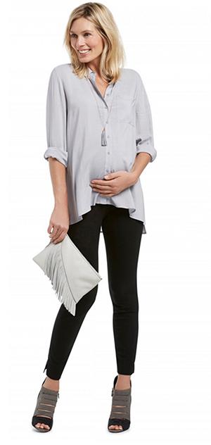 Sussan Maternity Denim Shirt