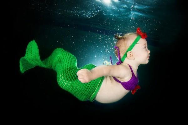 Underwater Baby 3