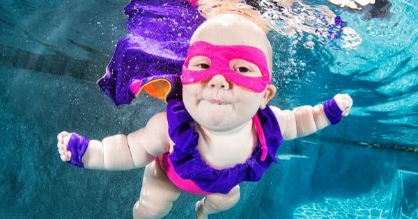 Underwater Baby 6