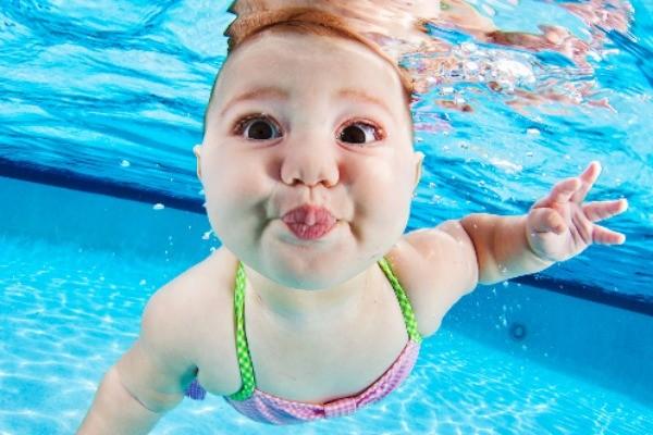 Underwater Baby 8