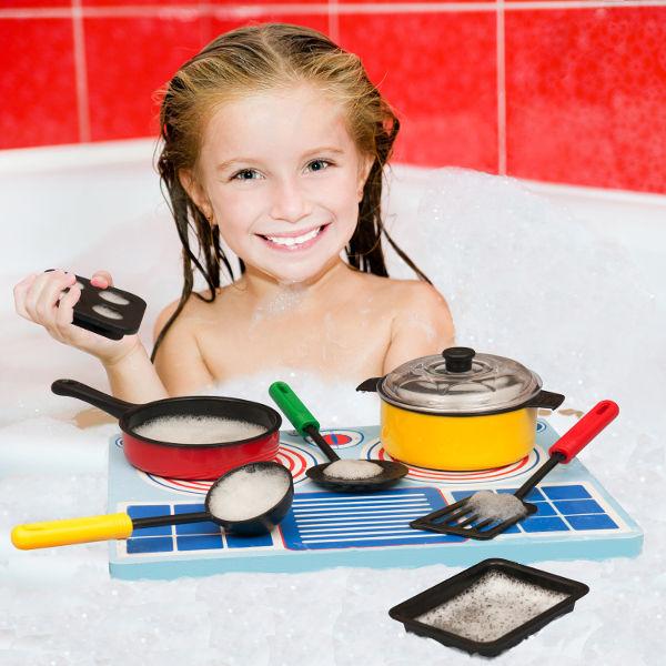 Cool Bath Toys : Bathblocks unique bath toys that will float their boat
