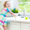 When should children help with household chores?