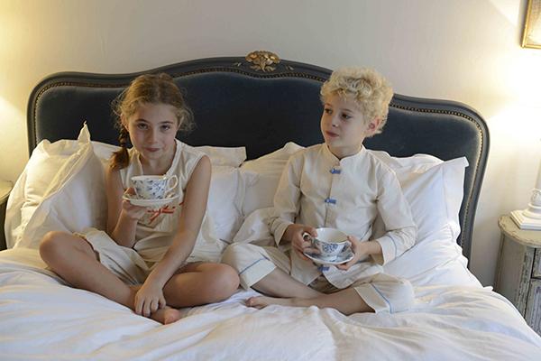 Atticus and Gilda kids tea party