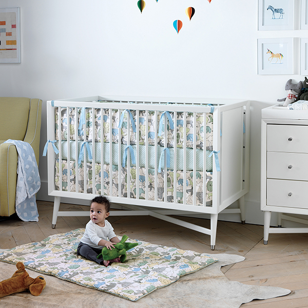 dwell studio reveal new spring 2015 nursery linen collections