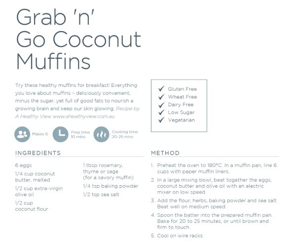 Coconut Muffins One