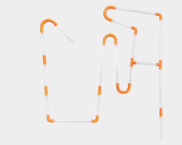 Constructible Drinking Straw