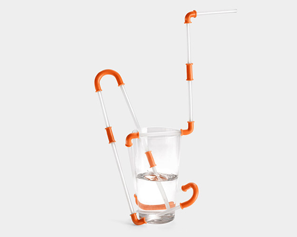 Constructible Drinking Straw