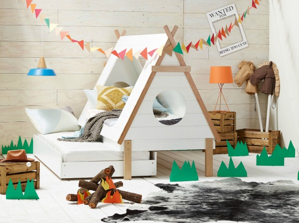 The Amazing Tee Pee Bed And Kid Friendly Frankie Bunk Bed